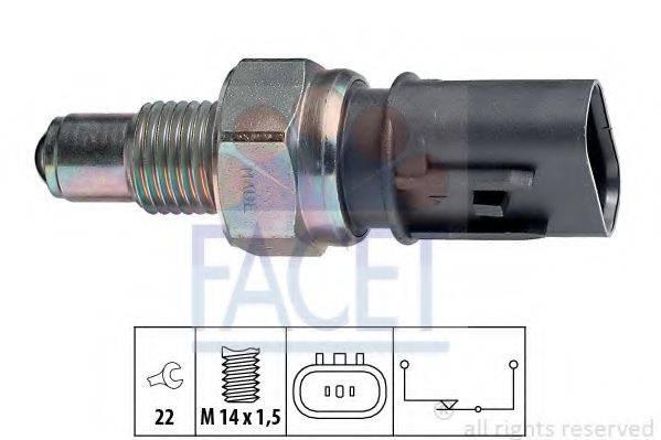 FACET 76084 Выключатель, фара заднего хода