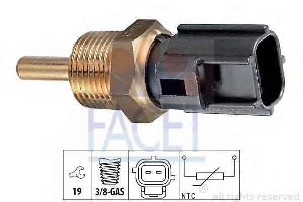 FACET 73230 Датчик, температура охлаждающей жидкости