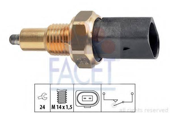 FACET 76256 Выключатель, фара заднего хода