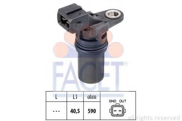 FACET 90539 Датчик частоты вращения, управление двигателем
