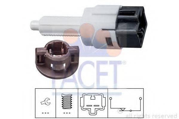FACET 71281 Выключатель фонаря сигнала торможения