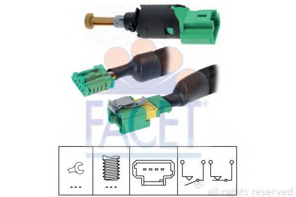 FACET 71213K Выключатель фонаря сигнала торможения