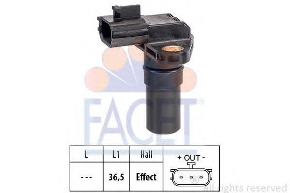 FACET 90649 Датчик частоты вращения, автоматическая коробка передач