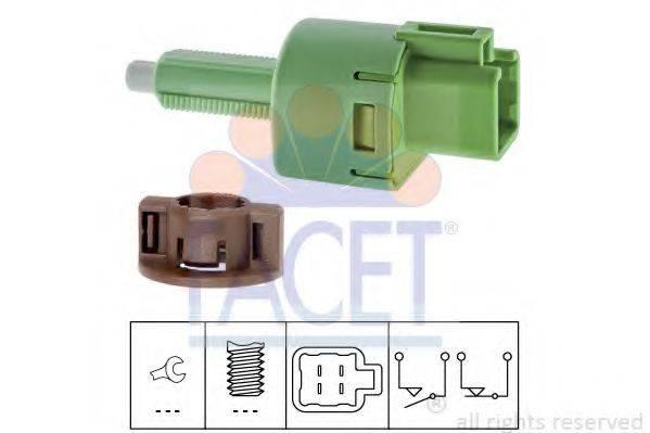 FACET 71254 Выключатель фонаря сигнала торможения