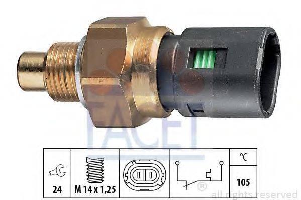 FACET 74126 термовыключатель, сигнальная лампа охлаждающей жидкости