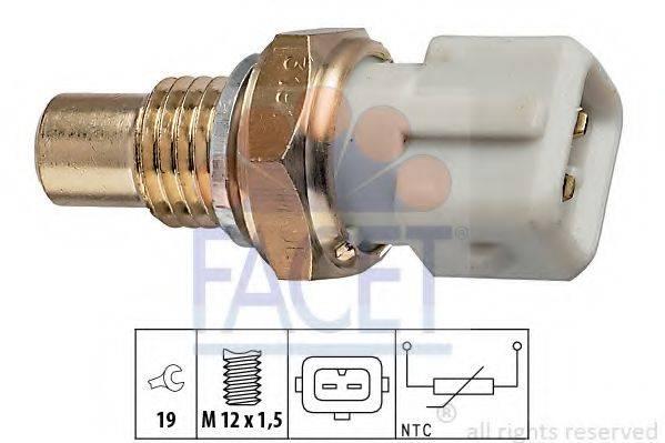 FACET 73191 Датчик, температура охлаждающей жидкости