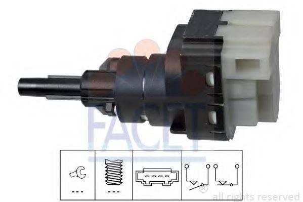 FACET 71229 Выключатель фонаря сигнала торможения