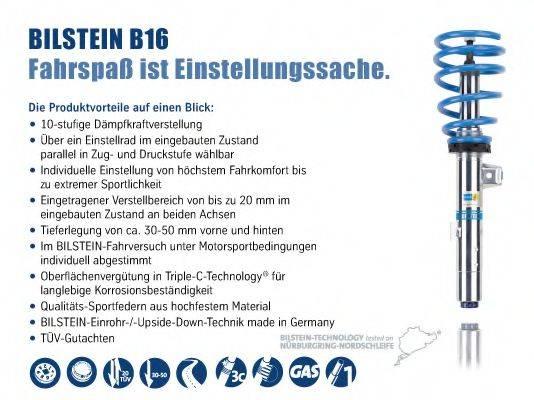 BILSTEIN BIL003162 Комплект ходовой части, пружины / амортизаторы