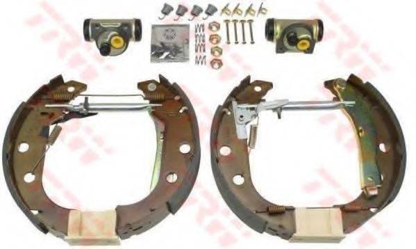 TRW GSK1225 Комплект тормозных колодок