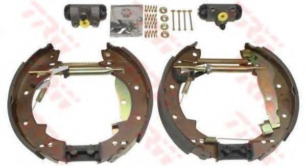 TRW GSK1330 Комплект тормозных колодок