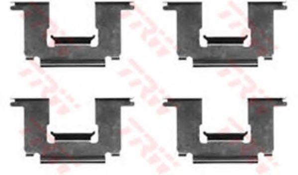 TRW PFK222 Комплектующие, колодки дискового тормоза