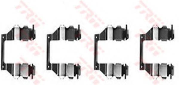 TRW PFK278 Комплектующие, колодки дискового тормоза