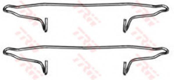 TRW PFK300 Комплектующие, колодки дискового тормоза