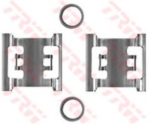 TRW PFK340 Комплектующие, колодки дискового тормоза