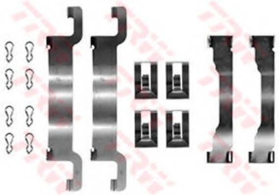 TRW PFK378 Комплектующие, колодки дискового тормоза