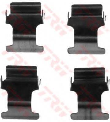 TRW PFK528 Комплектующие, колодки дискового тормоза