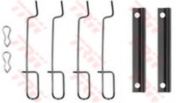 TRW PFK75 Комплектующие, колодки дискового тормоза