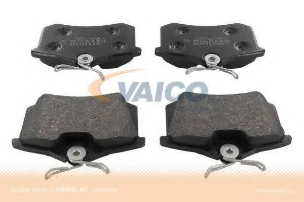 VAICO V108104 Комплект тормозных колодок, дисковый тормоз