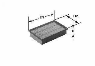 CLEAN FILTERS MA642 Воздушный фильтр