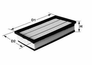 CLEAN FILTERS MA3116 Воздушный фильтр