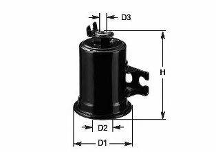 CLEAN FILTERS MBNA978 Топливный фильтр