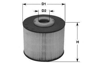 CLEAN FILTERS MG1666 Топливный фильтр