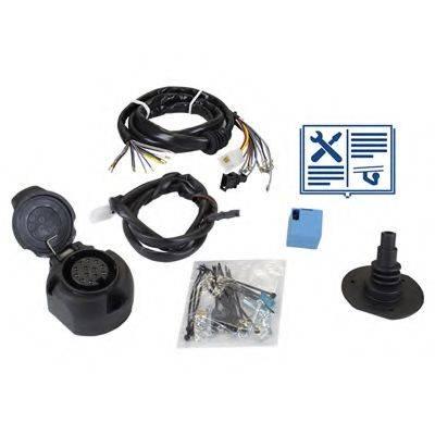 RAMEDER 107389 Комплект электрики, прицепное оборудование