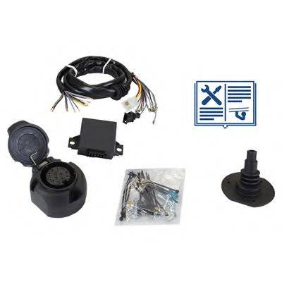 RAMEDER 107020 Комплект электрики, прицепное оборудование