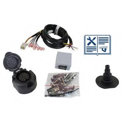 RAMEDER 107641 Комплект электрики, прицепное оборудование