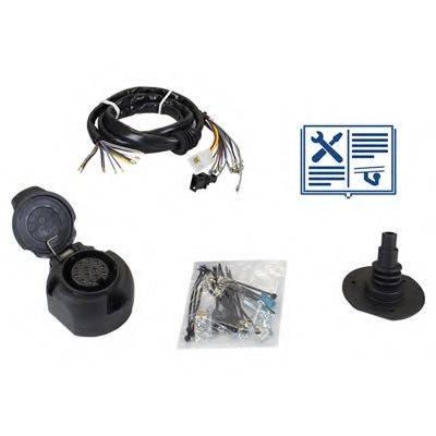 RAMEDER 107000 Комплект электрики, прицепное оборудование