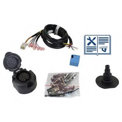 RAMEDER 107648 Комплект электрики, прицепное оборудование
