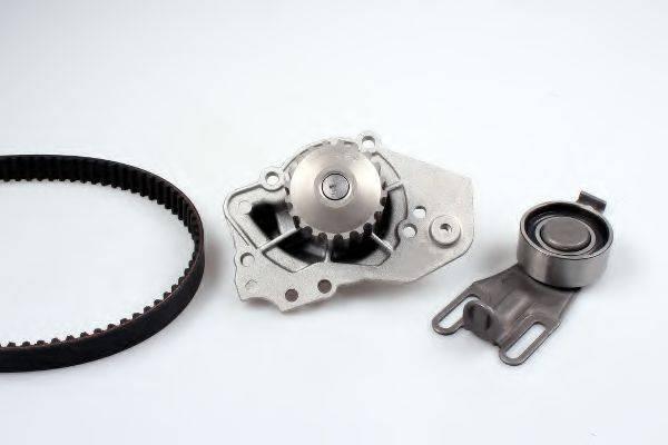 HEPU PK08160 Водяной насос + комплект зубчатого ремня