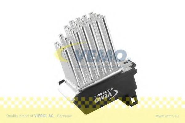 VEMO V10790014 Регулятор, вентилятор салона