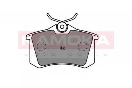 KAMOKA JQ1013576 Комплект тормозных колодок, дисковый тормоз