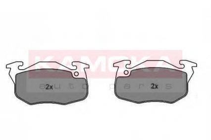 KAMOKA JQ101786 Комплект тормозных колодок, дисковый тормоз