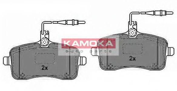 KAMOKA JQ1013450 Комплект тормозных колодок, дисковый тормоз