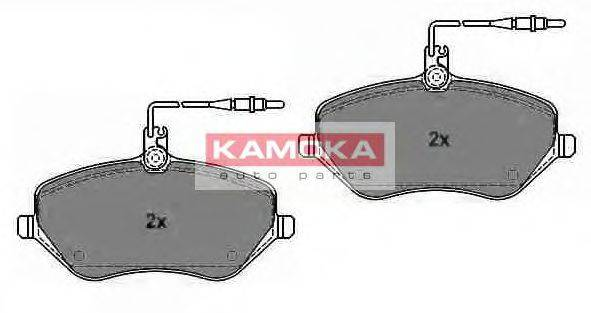 KAMOKA JQ1013452 Комплект тормозных колодок, дисковый тормоз