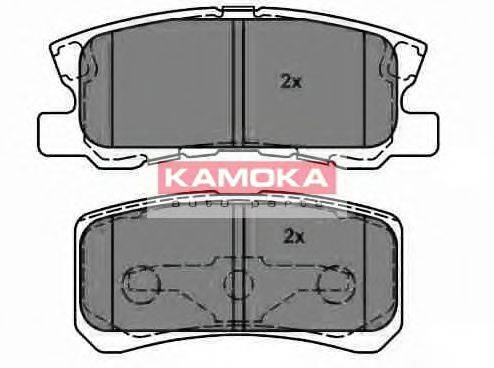 KAMOKA JQ1013678 Комплект тормозных колодок, дисковый тормоз