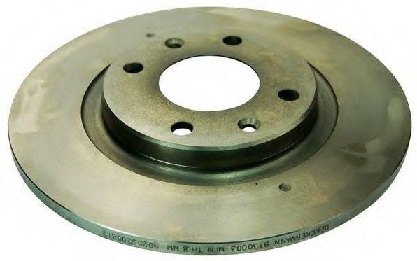 DENCKERMANN B130003 Тормозной диск