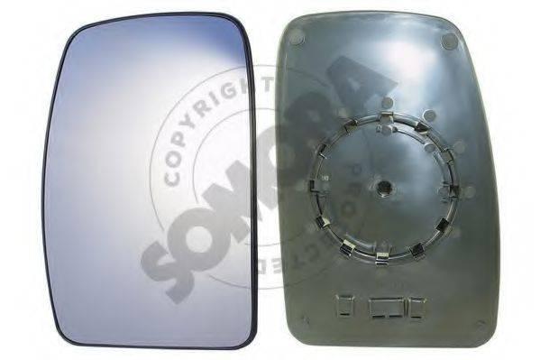 SOMORA 245656G Зеркальное стекло, наружное зеркало