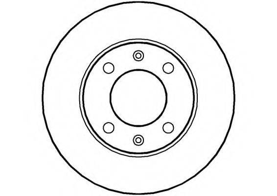 NATIONAL NBD328 Тормозной диск