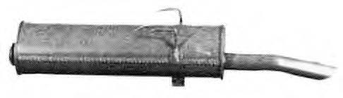 IMASAF 576007 Глушитель выхлопных газов конечный