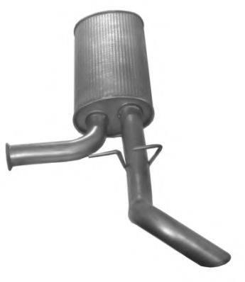 IMASAF 622407 Глушитель выхлопных газов конечный