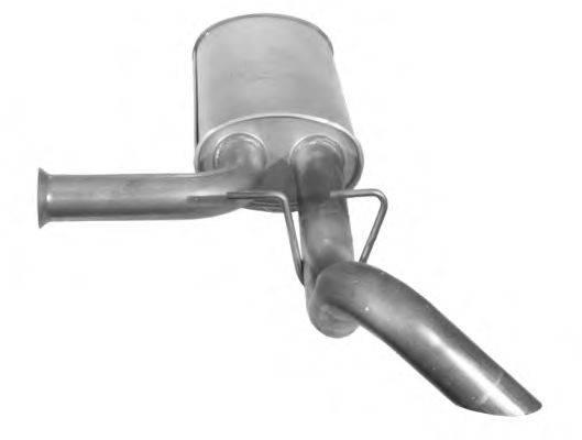 IMASAF 622607 Глушитель выхлопных газов конечный