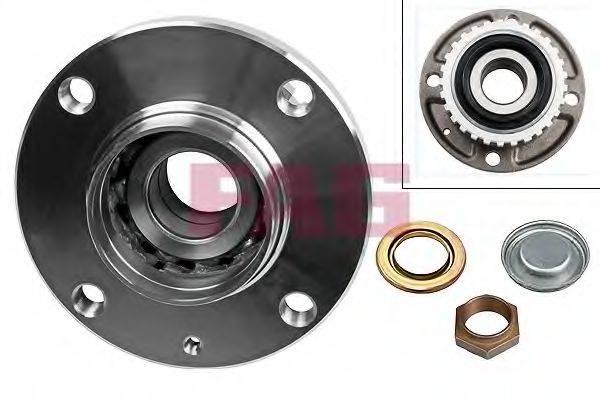 FAG 713650100 Комплект подшипника ступицы колеса