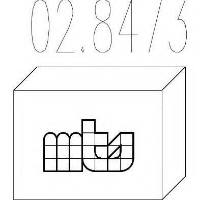 MTS 028473 Монтажный комплект, глушитель