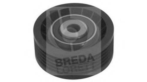 BREDA LORETT TOA3232 Паразитный / ведущий ролик, поликлиновой ремень