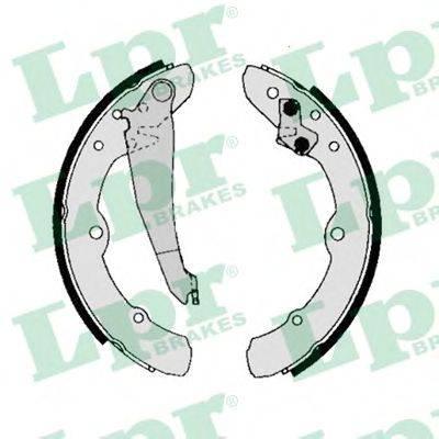 LPR 00150 Комплект тормозных колодок