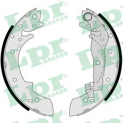 LPR 03330 Комплект тормозных колодок