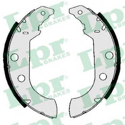 LPR 04980 Комплект тормозных колодок